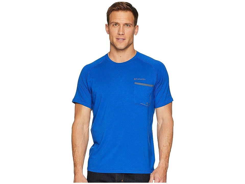 Columbia Sol Resist Short Sleeve Shirt (Azul) Men