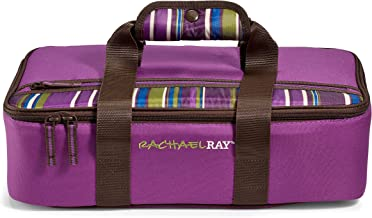 Rachael Ray Lasagna Lugger, Insulated Casserole Carrier for Parties, Fits 9