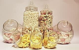 dulces deseos Envase de plástico Parte Paquete-10 Frascos surtidos - Entrega rápida para dulces Deseos