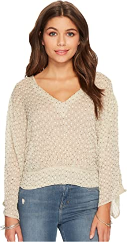 Lucky Brand - Embellished Top