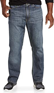 True Nation by DXL Big and Tall Athletic-Fit Jeans,
