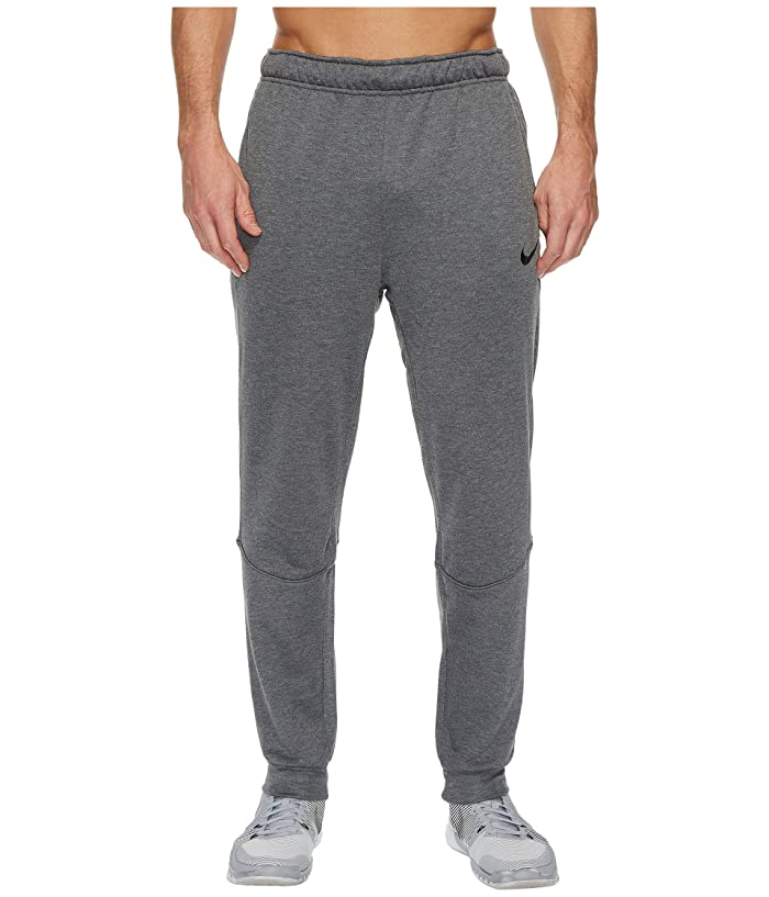 Nike Dry Training Tapered Pant (Charcoal Heather/Black) Men