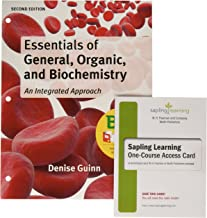 Essentials of General, Organic, and Biochemistry + Sapling Learning Homework + E-book, 6-month Access