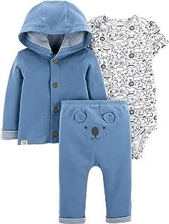 Baby Boy 3-Piece Koala Little Cardigan Set