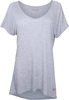 comprar comparacion Sundried Camiseta Holgada para Mujeres para Deporte Yoga Gimnasio Entrenamientos de Ethical Activewear Designer Relajante ...