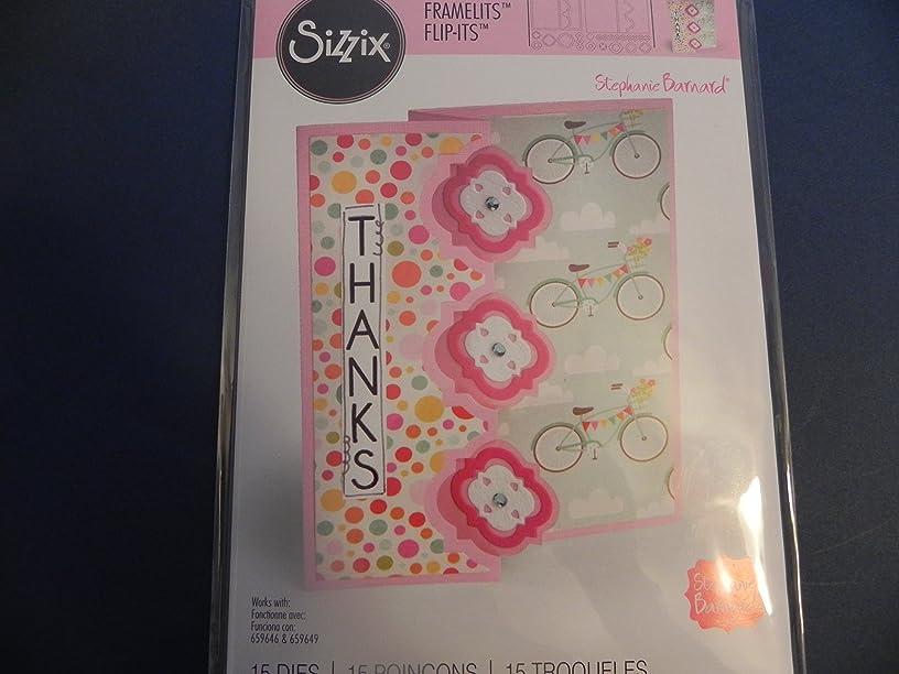 Sizzix Card Die ~ Triple Playful Flip-It!!!