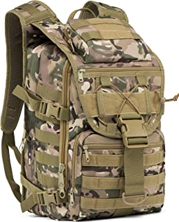 35L Military Tactical Backpack Large Waterproof Molle Bug Out Bag Army 3 Day Assault Pack