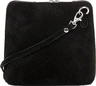 Italian Suede Leather Small/Micro Shoulder Bag Handbag