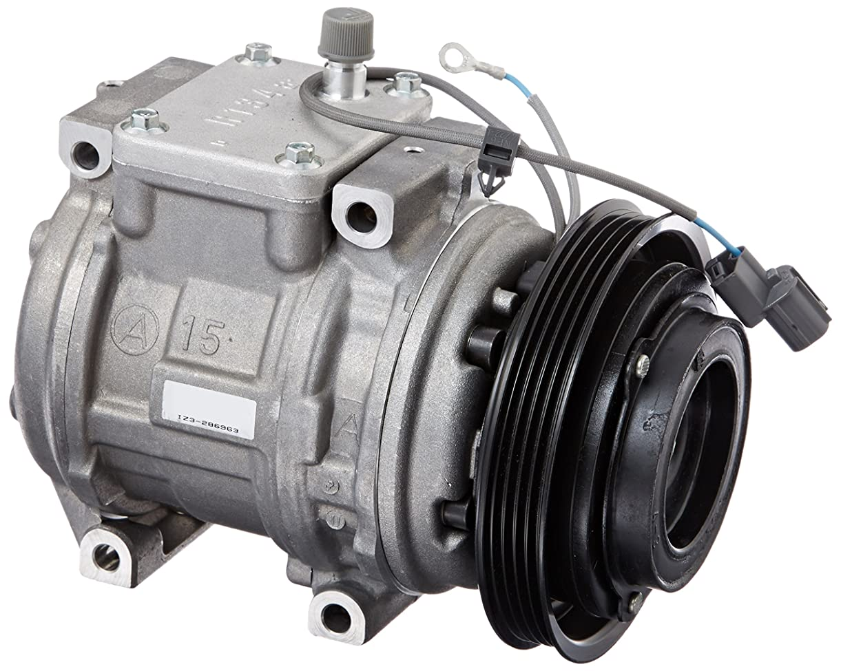 Denso 471-1420 New Compressor with Clutch rixeo8545
