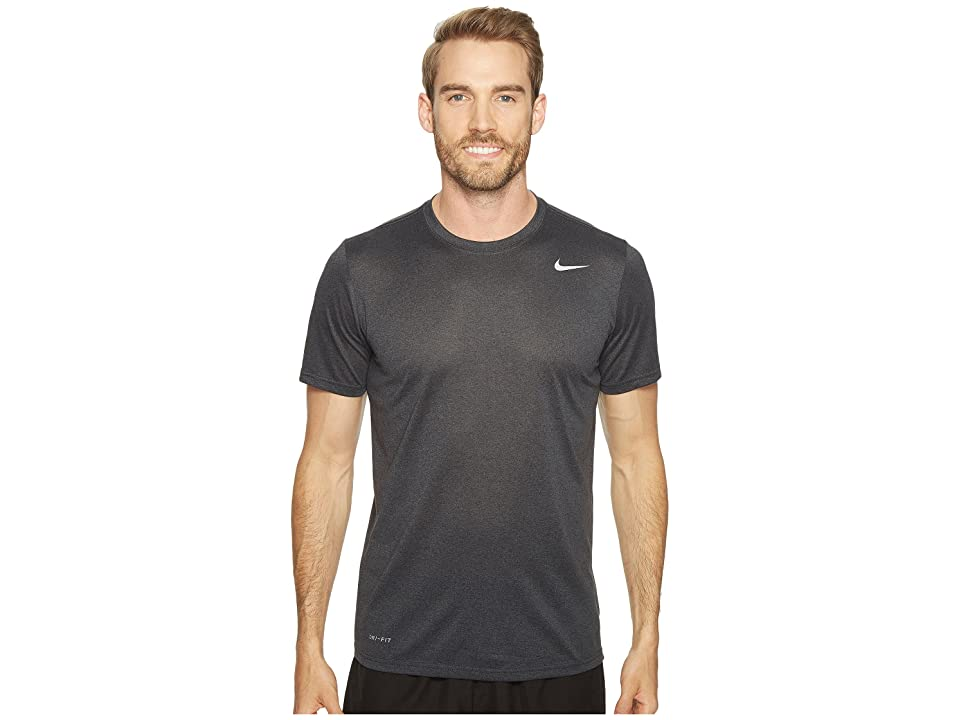 Nike Legend 2.0 Short Sleeve Tee (Black/Anthracite/Heather/Matte Silver) Men