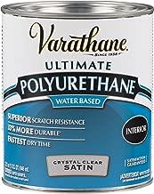 Rust-Oleum 200241H Varathane Ultimate Polyurethane Water Based, Quart, Satin