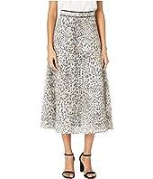 McQ - Flared Midi Skirt