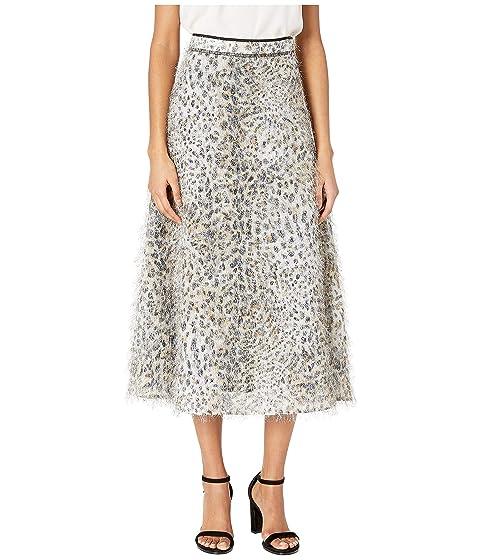 McQ Flared Midi Skirt