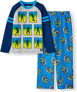Fortnite Pajamas 2-Piece Long Sleeve Dance Move Emotes PJs for Boys