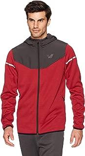 Amazon Brand - Peak Velocity Men's Axiom Full-Zip Water-Repellent Loose-Fit Jacket
