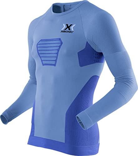 X Bionic FonctionneHommest Speed Evo Long-SL, Maillot Homme S Marina bleu Anthraci