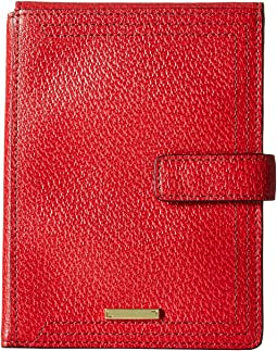 Lodis Accessories - Stephanie RFID Under Lock & Key Passport Wallet w/ Ticket Flap