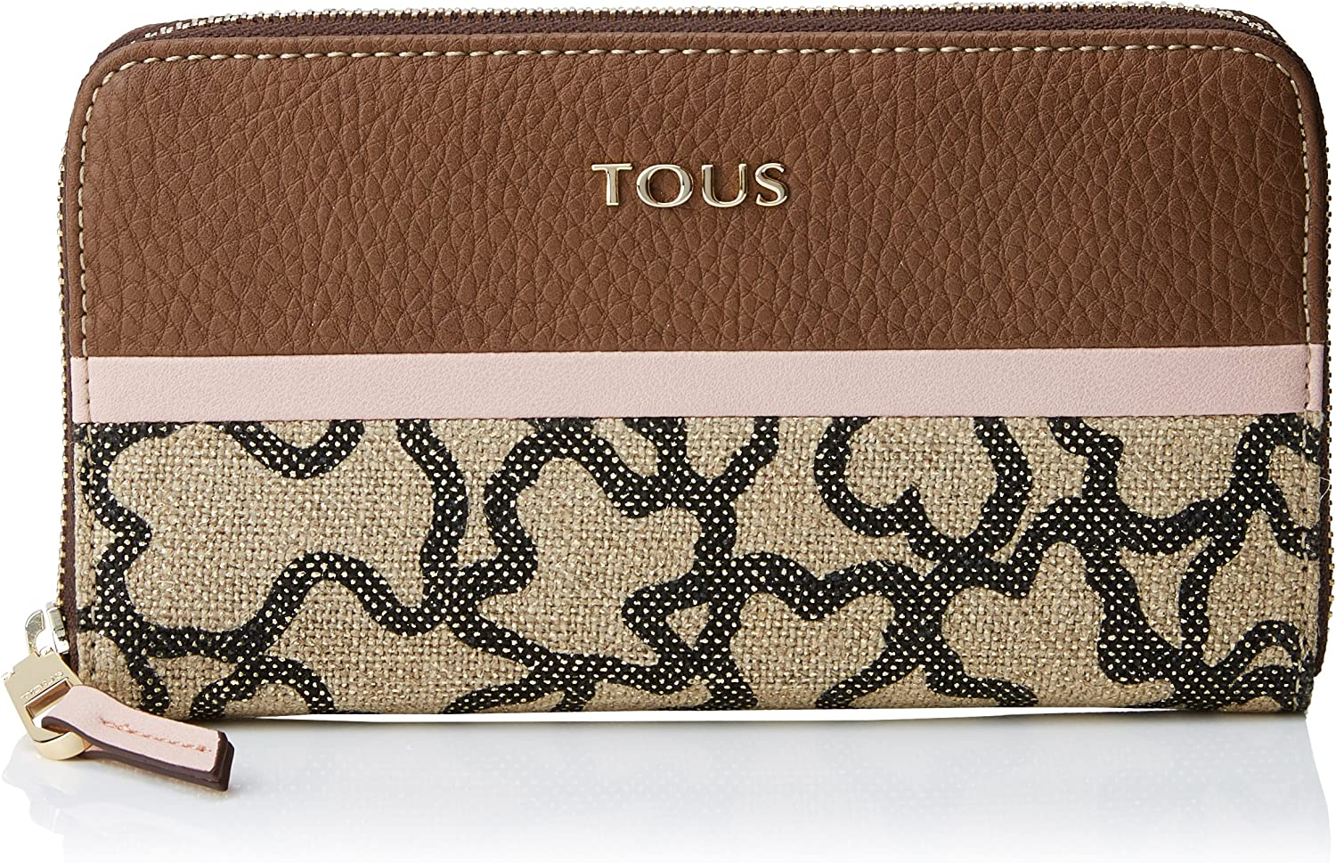 Tous Elice New Mediana Women's Marrón-rosa NEW before selling Dealing full price reduction ☆ Wallet Multicolour