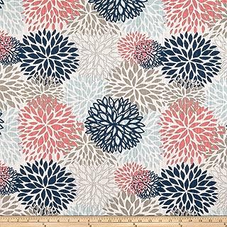 Premier Prints Blooms Slub Canvas Shore Life, Fabric by the Yard