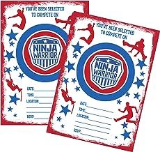Amazon.com: Ninja Warrior fiesta temática suministro paquete ...