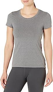 Core 10 Camiseta de Manga Corta de Malla técnica Ajustada para Correr Camiseta para Mujer