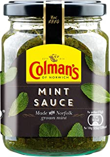 COLMANS MINT SAUCE 165GM JAR