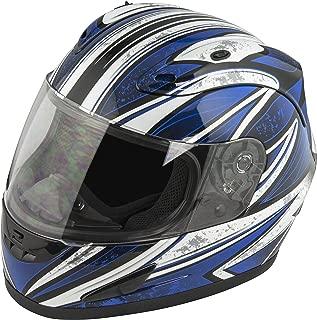 Raider Octane Full Face Helmet (Blue, X-Large)