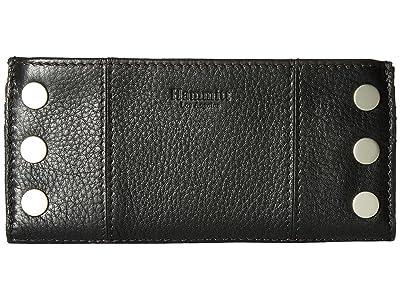 Hammitt 110 North (Black/Brushed Silver) Handbags