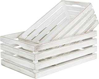 white storage crate