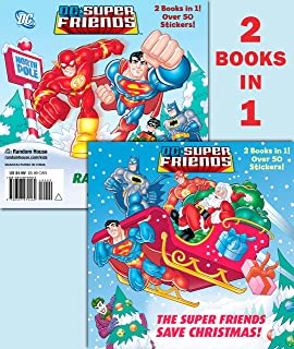 The Super Friends Save Christmas/Race to the North Pole (DC Super Friends) (Pictureback(R))