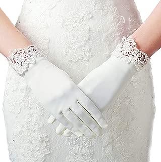 ArtiDeco Hochzeit Braut Handschuhe Lace Opera Fest Party Damen Spitzen Handschuhe Kostüm Accessoires