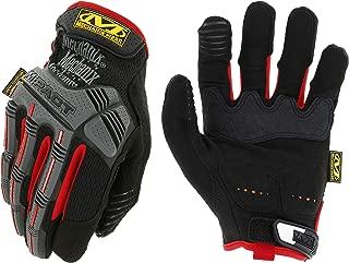 Mechanix Wear MPT-52-009 - M-Pact Gloves (Medium, Black/Red)