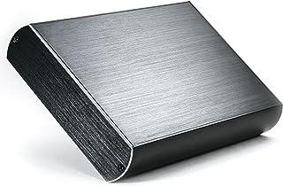 CSL - Carcasa de Aluminio USB 3.0 Super Speed para Disco Duro HDD de 3,5 Pulgadas SATA I II III - Aspecto Aluminio Cepilla...