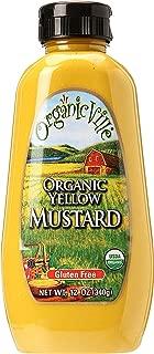 Organicville, Yellow Organic Mustard, 12 oz