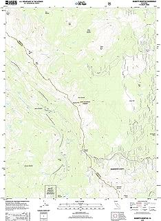 Topographic Map Poster - Mammoth Mountain, CA TNM GEOPDF 7.5X7.5 Grid 24000-SCALE TM 2012, 19