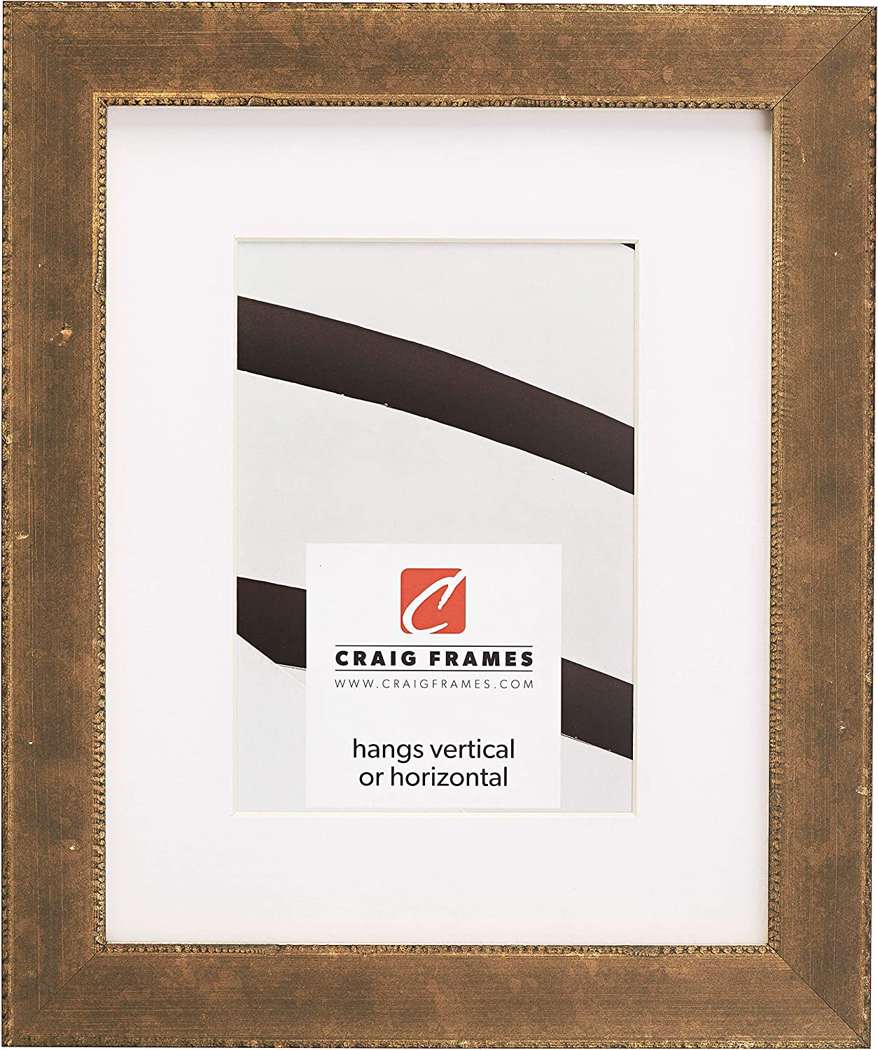 Animer and price revision Craig Frames Patina 125 12 x 16 Di to Picture Bargain Inch Frame Matted