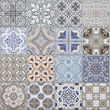 Casa Moro Oosterse keramische tegels Habib 44,1 x 44,1 cm 1 m²   Marokkaanse patchwork tegels voor mooie keuken, hal, badk...