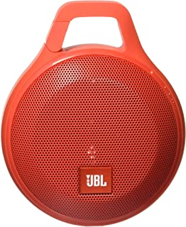 JBL Clip+ Splashproof Portable Bluetooth Speaker (Red)