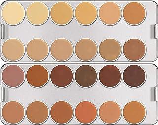 Kryolan DerMAColor Camouflage Cream Palette - K24