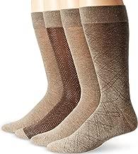 Dockers Men's 4 Pack Herringbone Dress Socks
