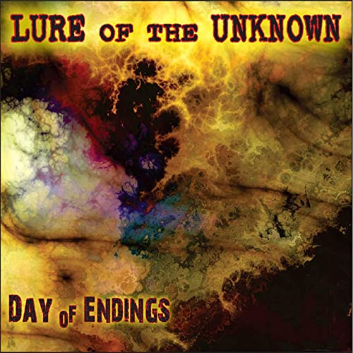 Cover for Lure of the Unknowns' Day of Endings