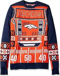 broncos light up sweater