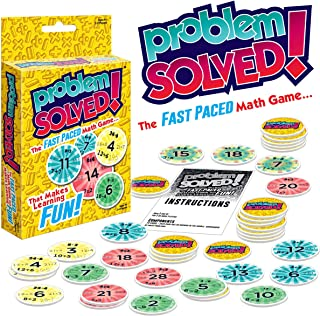 Problem Solved! | Easy and Fun Educational Math Game | Fun Learning for Kids | Great Gift Idea |for Children Ages 5+
