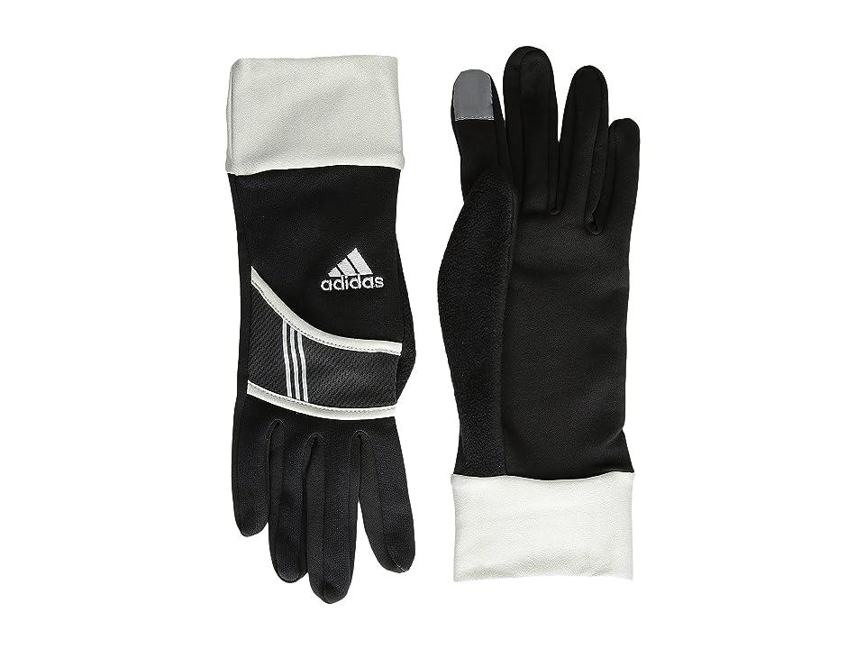 adidas Dash (Black/Silver) Liner Gloves