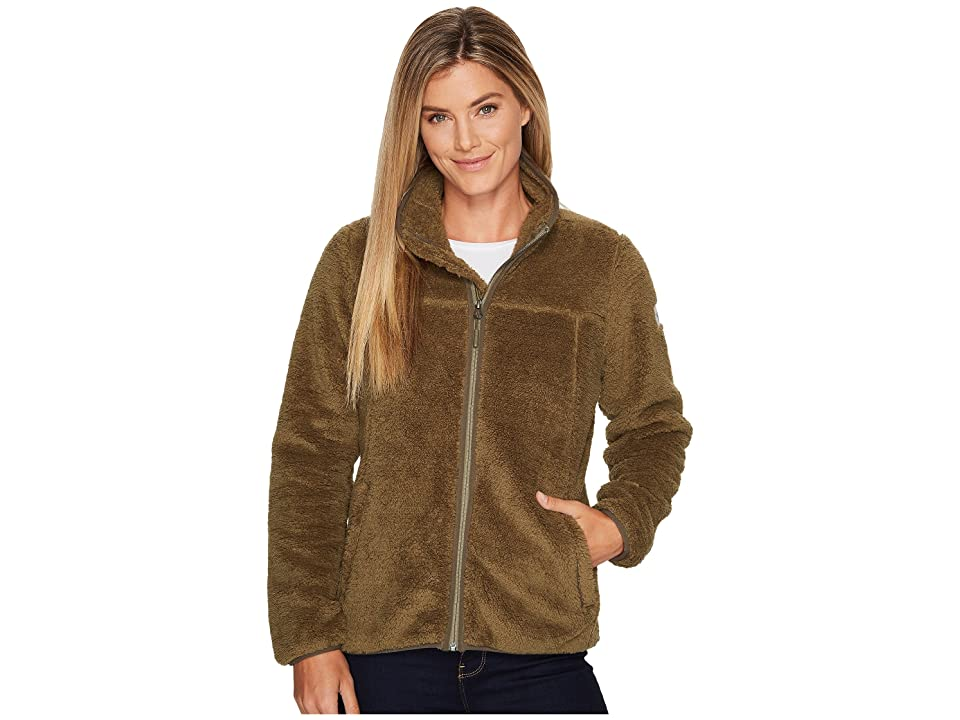 The North Face Campshire Full Zip (Burnt Olive Green) Women