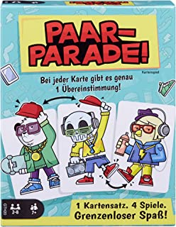 Mattel Games GTH20 Couple Parade Card, Family Game
