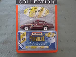 Minnesota State Patrol Matchbox Premiere Series 18 State Police Collection