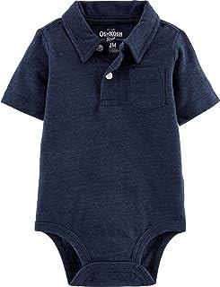 OshKosh B'Gosh Baby-Boys Polo Bodysuit Short Sleeve Polo Shirt