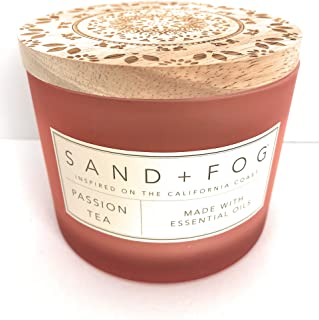 Sand And Fog Passion Tea Candle With Essential Oils 12 Oz