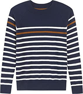 Tops Sweater for Kids Baby Boy Toddler Adorable Crew Neck Cute Jacquard Knit
